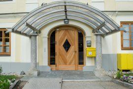 Eingangsportal Gemeinde Keutschach