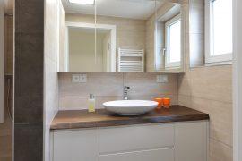 Badezimmer Altholz