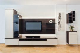 Wohnraum mit Bar