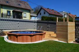 Podest Swimmingpool
